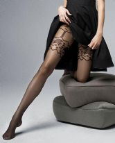 Veneziana Giaretierra Mock Suspender Tights